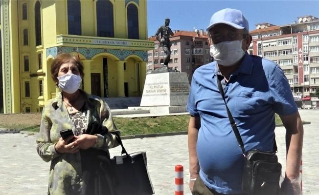 Kütahya'da maske takma zorunluluğu