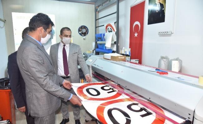 Manisa Büyükşehir Belediyesi üreterek tasarruf sağlıyor