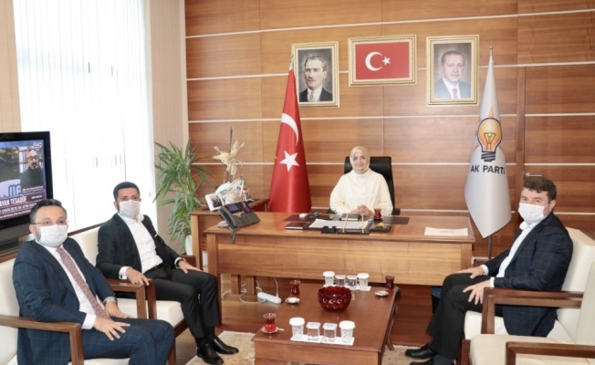 Nevşehir Belediye Başkanı Arı, Ankara'da temaslarını sürdürüyor