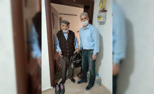 Şehit Aileleri Derneğinden şehit babalarına 'Babalar Günü' ziyareti