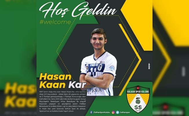 Solhan Spor, Hasan Kaan Kar ile anlaştı