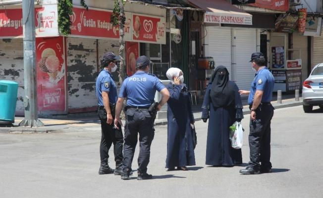 Suriye sınırındaki Kilis'te sokağa çıkma yasağına uyuluyor