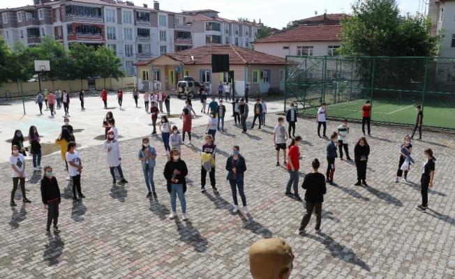 Taşova'da 410 öğrenci LGS'ye girdi