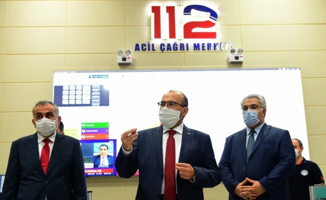 Trabzon 112 Acil Çağrı Merkezi hizmete girdi
