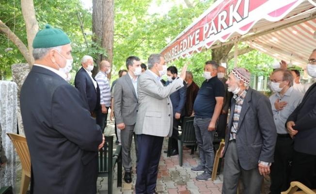Vali Hasan Şıldak, veda ziyaretlerine devam ediyor