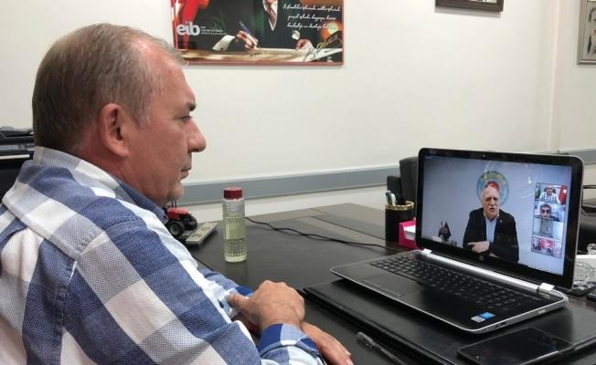 Yalvaç, video konferansta bölge çiftçisinin sorunlarını aktardı