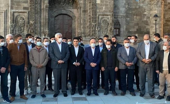 """AK Parti Erzurum İl Başkanı Öz: """"Ayasofya kararı egemen Türkiye'nin hür haykırışıdır"""""""