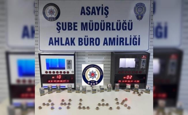 Aydın'da polisten kıraathaneye kumar baskını
