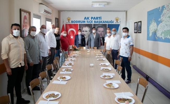 Başkan Aras'tan siyasi partilere ziyaret