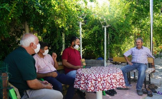 Elazığ'da şehit aileleri ve gaziler ziyaret edildi
