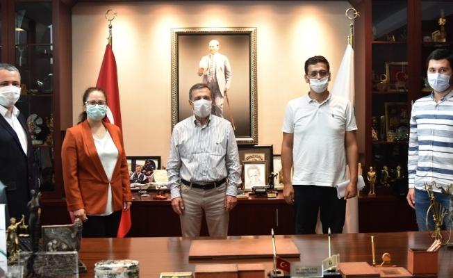 İMO'dan Başkan Ataç'a ziyaret