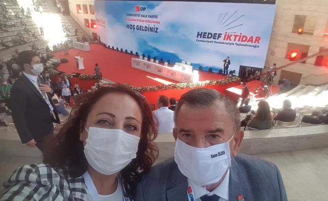 Karadağ ve Yeşildal CHP Kurultayı'nda