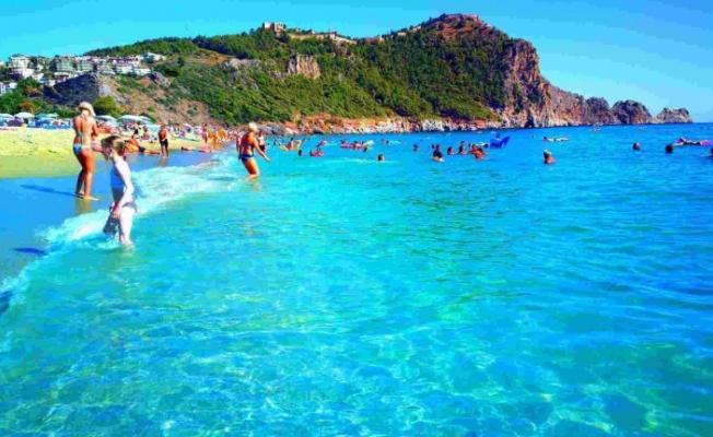 Kleopatra Plajı en temiz sahillerden seçildi