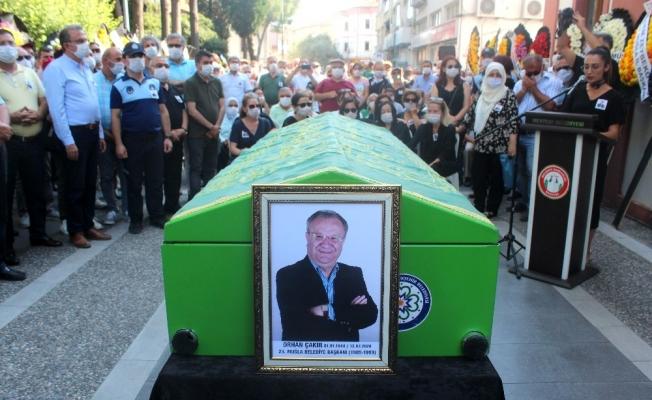 Muğla Belediye eski başkanı Orhan Çakır son yolculuğa uğurlandı
