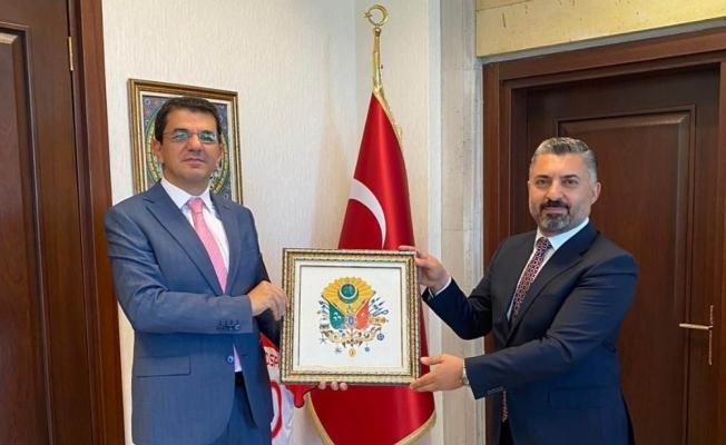 RTÜK Başkanı Şahin, Nevşehir Cumhuriyet Başsavcısı Şahin'i ziyaret etti
