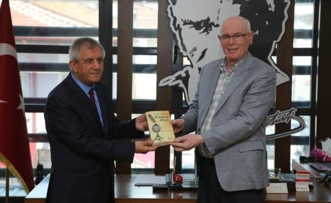 Universal Tural Platformu Genel Başkanı Müjdat Kayayerli'dan Kazım Kurt'a ziyaret