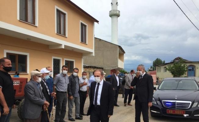 Vali Epcim, Yukarı Kırzı köyünü ziyaret etti