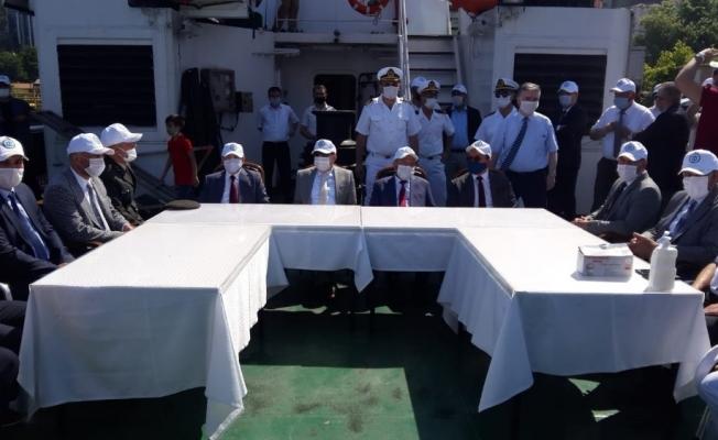 Zonguldak'ta Denizcilik ve Kabotaj Bayramı kutlamaları