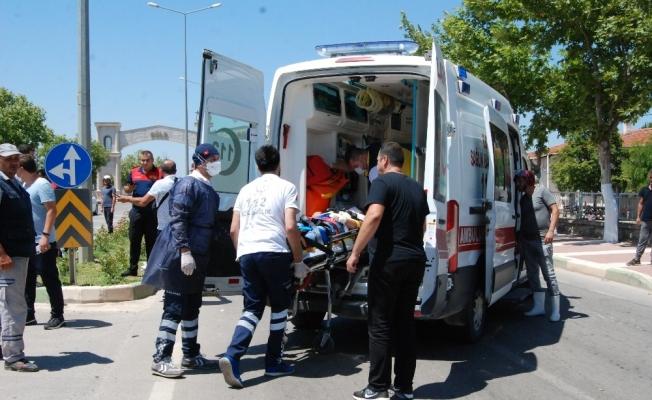 Bayramiç'te trafik kazası: 1 yaralı