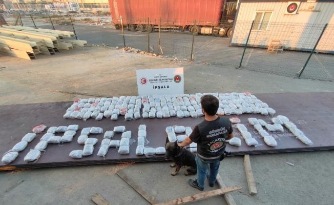 Edirne'de 227 kilogram esrar ele geçirildi