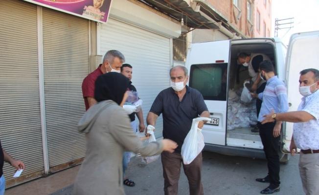 Kilis'te  5 bin aileye kurban yardımı