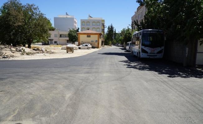 Mehmet Akif Mahallesinde asfalt çalışması