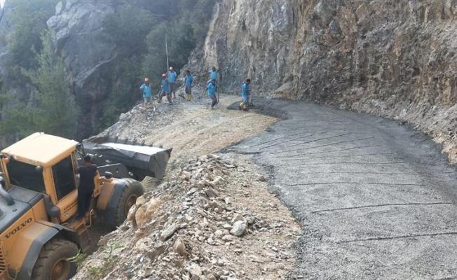 Yol sorununu Alanya Belediyesi çözdü