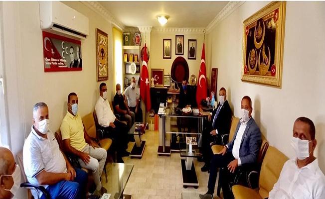 Başkan Türkdoğan'a hayırlı olsun ziyaretleri başladı
