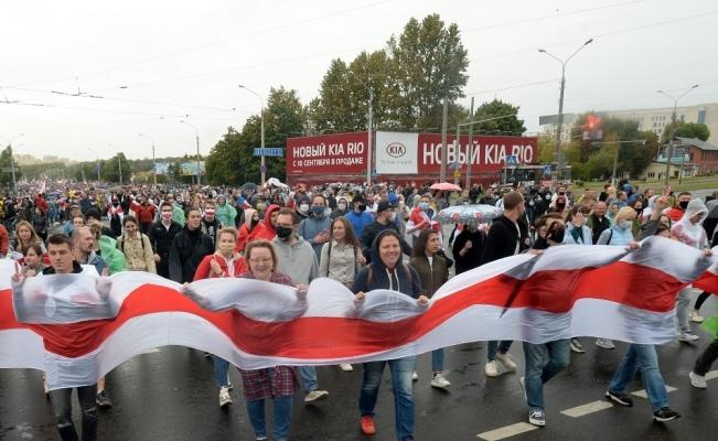 Belarus'ta Lukaşenko karşıtı protestolar 7. haftasında