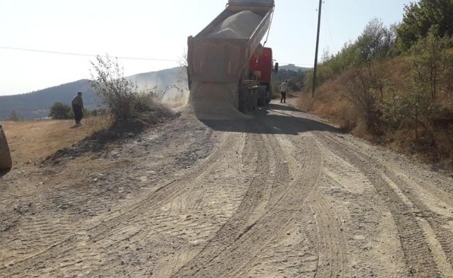 Hanönü köy yolları asfaltlanıyor