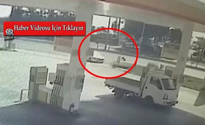 İşte Alanya'da 9 yaşında çocuğun öldüğü kazanın görüntüsü!