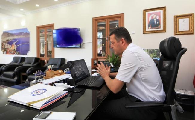 Kaymakam Ürkmezer okul müdürleri ile toplantı yaptı