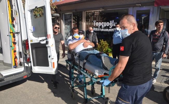 Malkara'da motosiklet dehşeti: Eski AK Parti İlçe Başkanına çarpıp kaçtı