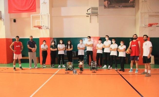 Samsun'da öğrenciler basketbola yapay zeka katacak