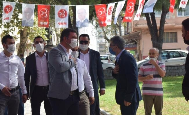 Susurluk MHP'de Ali Gürsoy başkan seçildi