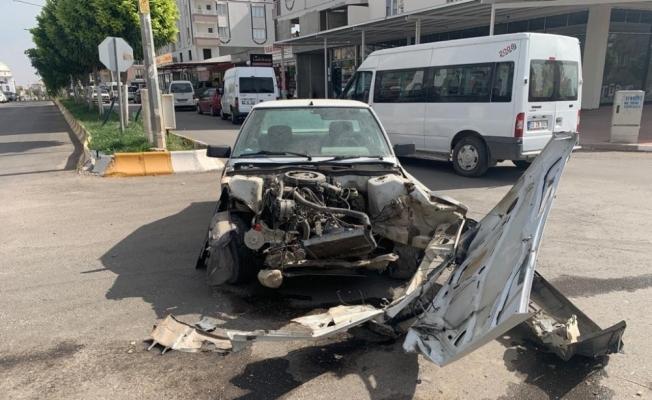 Adıyaman'da kaza: 1 Yaralı