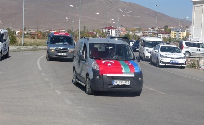 Ardahan İHH'dan Azerbaycan'a destek konvoyu