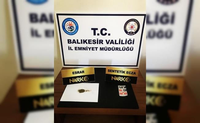 Balıkesir'de polis kaçak tütün operasyonu