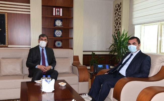 Başkan Asya'dan Müdür Arıbaş'a teşekkür ziyareti
