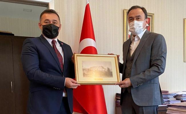 Başkan Yücel'in Ankara ziyaretleri sürüyor