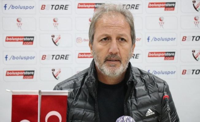 Boluspor - Tuzlaspor maçının ardından
