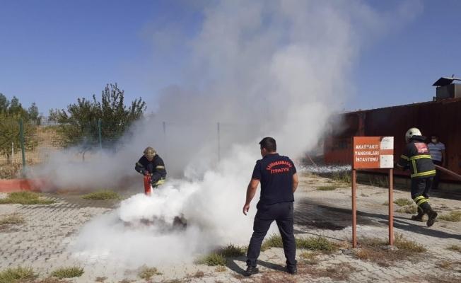 Kahramanmaraş'ta 21 gönüllü itfaiye erine eğitim