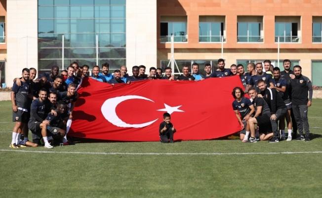 Kayserispor'da Bayram coşkusu