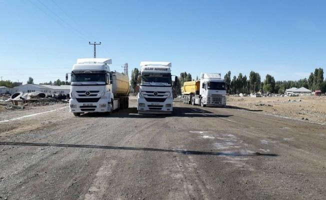 Malazgirt Belediyesinden asfalt çalışması