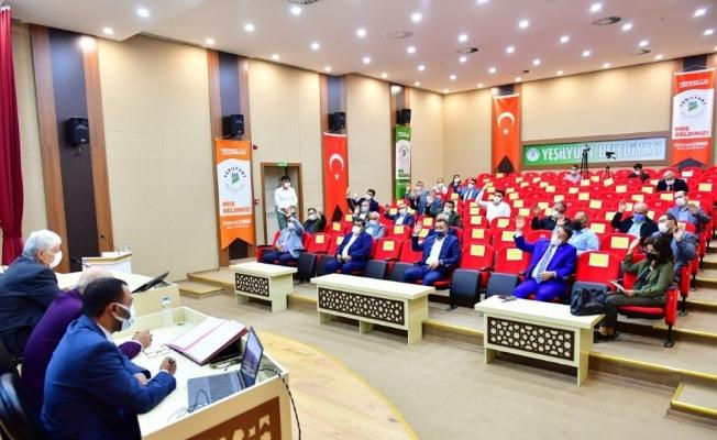 Yeşilyurt Belediye Meclisi, Ekim ayı çalışmalarını tamamladı