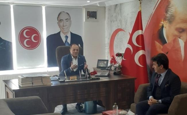Ahmet Coşkun'dan yeni il binasına ziyaret