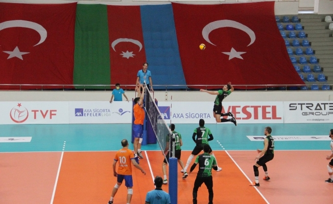 Efeler Ligi: Bingöl Solhan Spor: 3 - İstanbul BBSK: 1