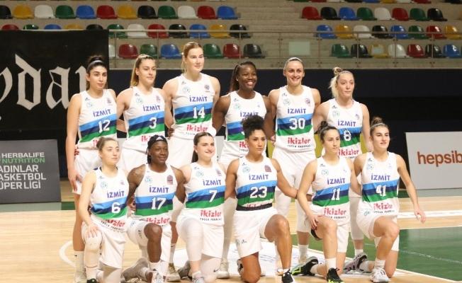 Kadınlar Basketbol Süper Ligi: İzmit Belediyespor: 62 - Galatasaray: 80