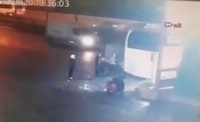 (Özel) Şişli'de kamyonet sürücüsünün hayatını kaybettiği feci kaza kamerada