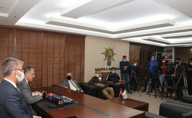 Özhaseki, Kayseri'deki kamu yatırımları ile Kayseri projelerini değerlendirdi